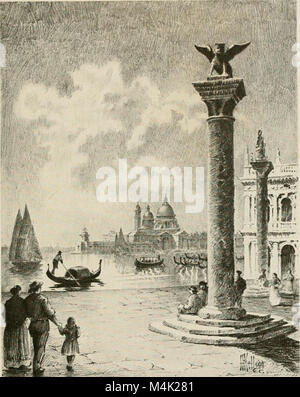 Around the clock in Europe; a travel-sequence (1912) (14777476064) - Stock Photo