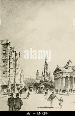 Around the clock in Europe; a travel-sequence (1912) (14779766895) - Stock Photo