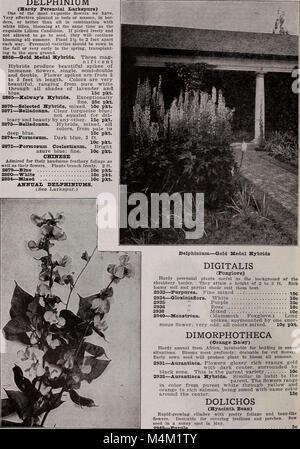 Barnard's seeds, bulbs, shrubs 1922 (1922) (20345583692) - Stock Photo