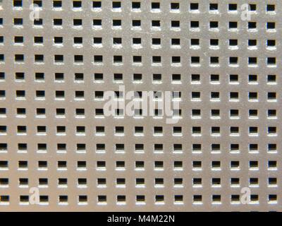 metal radio iron grid up close detail - Stock Photo