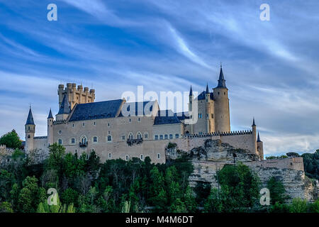 Alcazar, Sergovia, Spain - Stock Photo