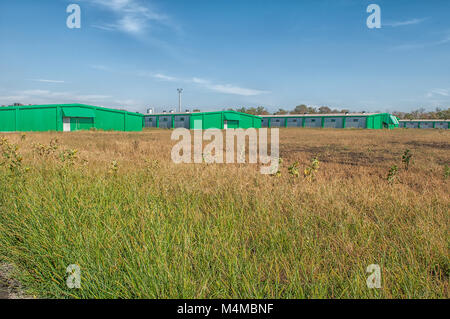 Large agricultural plant - Stock Photo