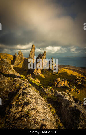 The Old Man of Storr, Isle of Skye - Stock Photo