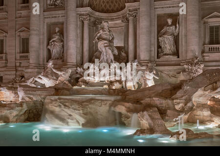 Close-up of the Trevi Fountain in Rome - Stock Photo