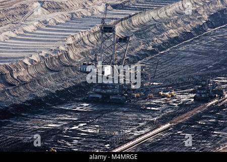 Opencast Mining Hambach - Stock Photo