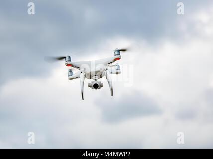 Drone in sky - Stock Photo