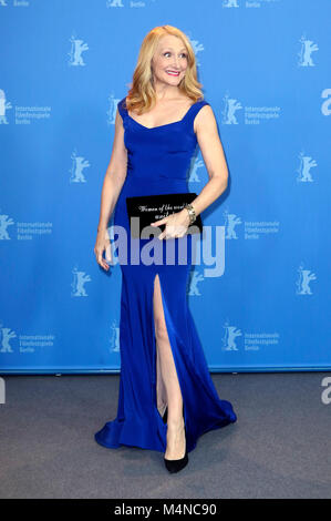 Berlin, Germany. 16th Feb, 2018. Patricia Clarkson during the 'The Bookshop' photocall at the 68th Berlin International - Stock Photo