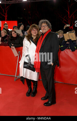 Berlin, Germany. 16th Feb, 2018. Isabel Coixet (Director) at the premiere of 'The Bookshop' on Berlinale at 16th - Stock Photo