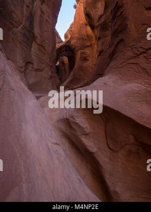 Peek-a-boo Gulch - Stock Photo