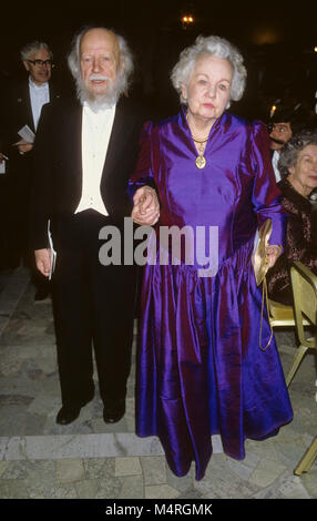 WILLIAM GOLDING British author and Nobel prize laureate in literature at Nobel Banquete with wife Anne 1983 - Stock Photo