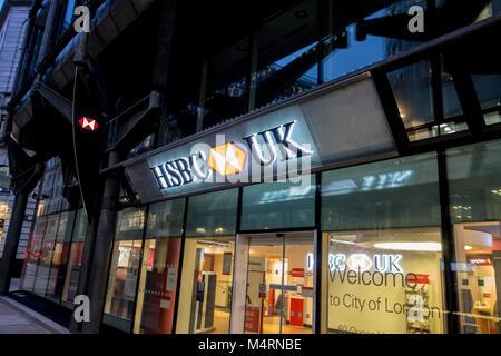 HSBC bank branch, UK Stock Photo: 139115394 - Alamy