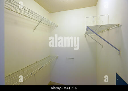 Empty Closets Before A Move In   Stock Photo