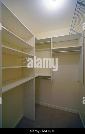 Awesome ... Empty Closets Before A Move In   Stock Photo