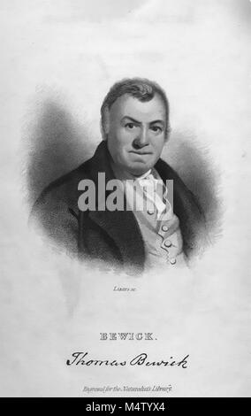 THOMAS BEWICK (1753-1828) English naturalist and engraver - Stock Photo