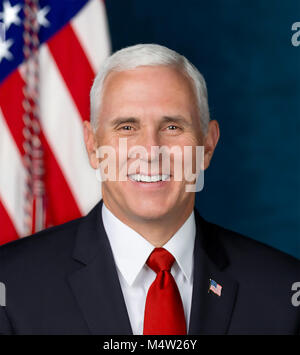 MIKE PENCE as 48th Vice President of the United States on 24 October 2017. Photo: D. Myles Cullen - Stock Photo