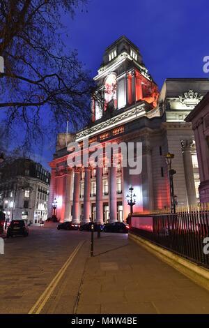 Four Seasons Hotel, London, Tower Hill - Stock Photo