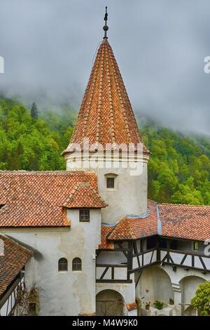 Bran Castle (Dracula's Castle) - Stock Photo