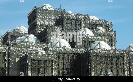 The National Library of Kosovo at Pristina - Stock Photo