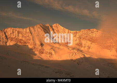 sunrise at hochfeiler - Stock Photo