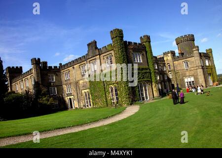 Swinton Park Hotel near Masham, North Yorkshire - Stock Photo