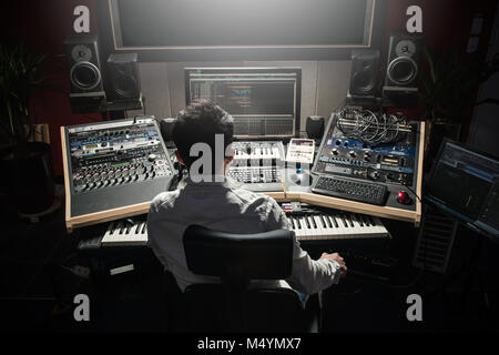 Sound engineer - Stock Photo