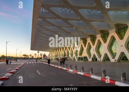 Terminal building at Marrakesh Menara Airport, Marrakesh, Marrakesh-Safi, Morocco