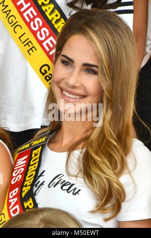 Rust, Germany, 19th February, 2018, press conference 'Miss Germany - Das Finale 2018' Credit: mediensegel/Alamy - Stock Photo
