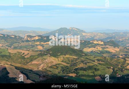 View from San Marino hills - Stock Photo