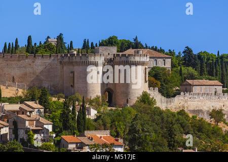 Fort Saint-Andre in Avignon - Provence France - Stock Photo