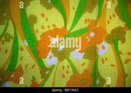 Detail of vintage fabric pattern - Stock Photo