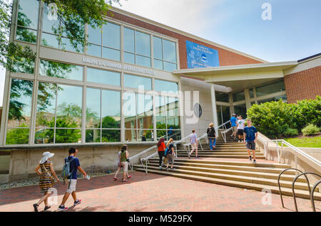 Student Center at Johns Hopkins University in Baltimore, Maryland. - Stock Photo