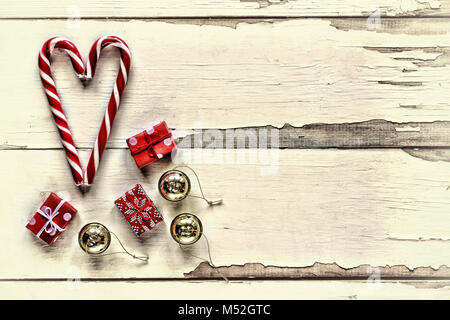 Christmas, New Year, Valentine's Day. - Stock Photo