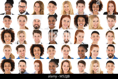 Set Of Multi-racial People From Various Occupations - Stock Photo