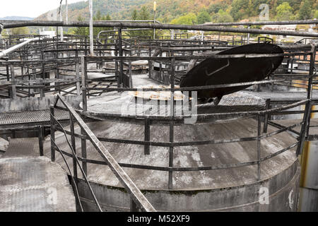 Whiskey and brandy distillery - Stock Photo