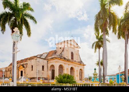 holy trinity church trinidad cuba - Stock Photo