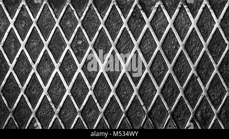metal pattern, perfect grunge background - Stock Photo
