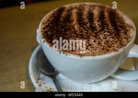 how to make chocolate with coffee powder