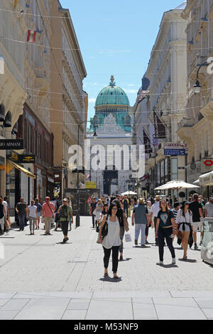 vienna shopping street