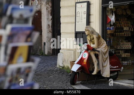 Mannequin on Machine - Stock Photo