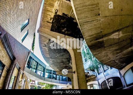 scenes around spokane washington downtown - Stock Photo