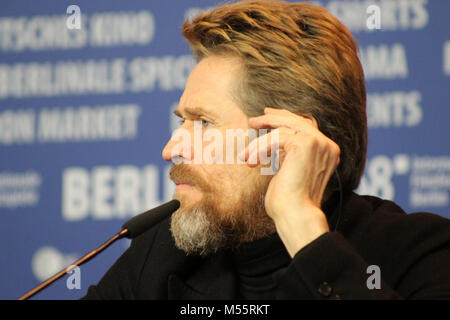 """Berlin, Germany. 20th February, 2018. Press conference at the Grand Hyatt Hotel in Berlin/Germany for """" Goldener - Stock Photo"""