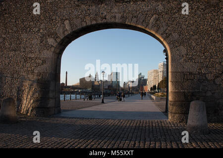 Liverpool, Lancashire, United Kingdom, 20th February 2018                Liverpool is set to bring back its tall - Stock Photo