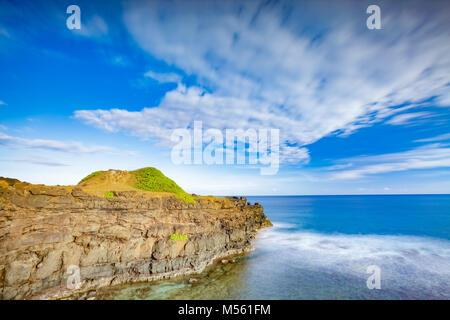 Coastal view. Timelapse - Stock Photo