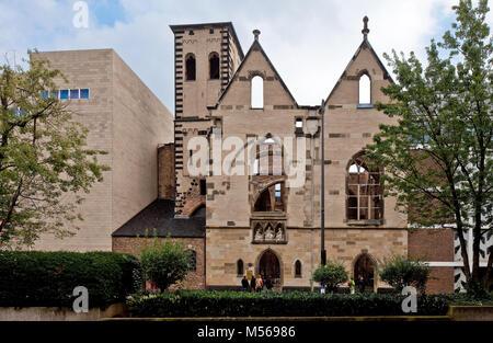 Köln, Alt St. Alban. Westansicht - Stock Photo