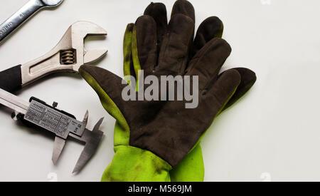 Plumber Measuring Plastic Pipe Stock Photo 41321312 Alamy
