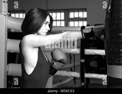 Fitness Training in Harlow, Essex, UK - Stock Photo
