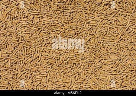 background pellets - Stock Photo