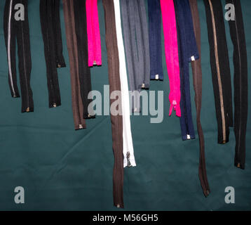 The Zippers background. - Stock Photo