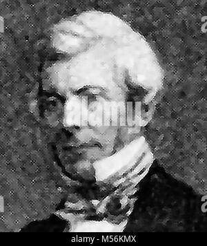 A 1921 printed portrait of  William Chambers (1800-1883), of Glenormiston, Scottish publisher,( Chambers Encyclopaedia) - Stock Photo