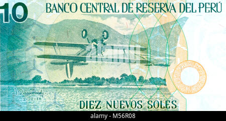 Peruvian soles peru sol currency notes and coins stock photo peru ten 10 nuevos sol bank note stock photo thecheapjerseys Images